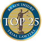 National Brain Injury Trial Lawyers Association: Top 25