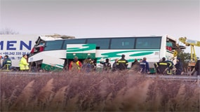 Sexual harassment video in bus crash