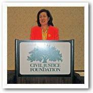 Shana De Cara, Esq., Trustee, Civil Justice Foundation