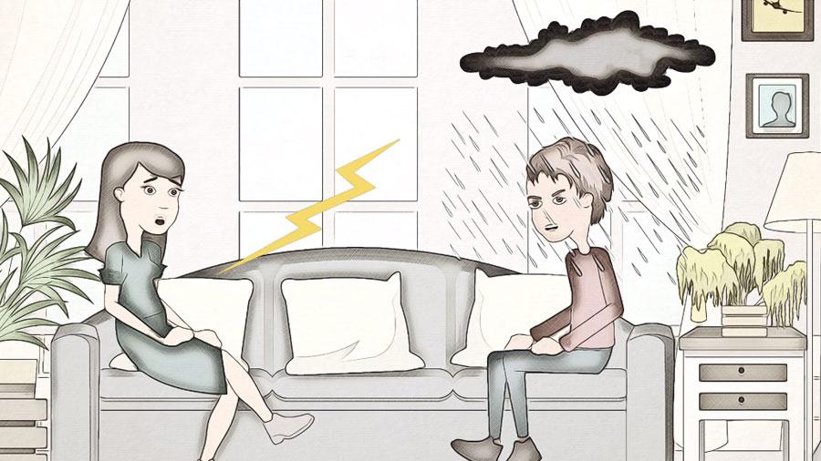 invisible rain cloud