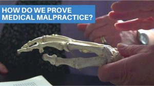 How to prove medical malpractice