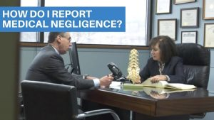 How to report medical negligence